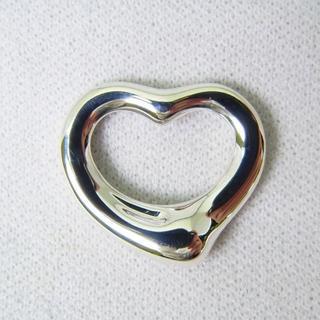 ティファニー(Tiffany & Co.)のティファニー 925 オープンハート ペンダントトップ [g148-4](ネックレス)