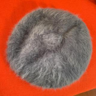 アズールバイマウジー(AZUL by moussy)のファーベレー帽(ハンチング/ベレー帽)