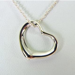 ティファニー(Tiffany & Co.)のティファニー 925 オープンハート ネックレス[g148-3](ネックレス)