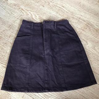 ロキエ(Lochie)の紫 タイトスカート(ひざ丈スカート)
