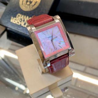 ヴェルサーチ(VERSACE)の✨希少ヴェルサーチ  ピンク シェル ✨(腕時計(アナログ))