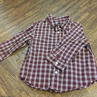 ベビーギャップ(babyGAP)のお値下げ❣️ベビーGAP チェックシャツ (Tシャツ/カットソー)