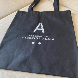 アズディンアライア(Azzedine Alaïa)のAZZEDINE ALAIA アライア トートバッグ(トートバッグ)