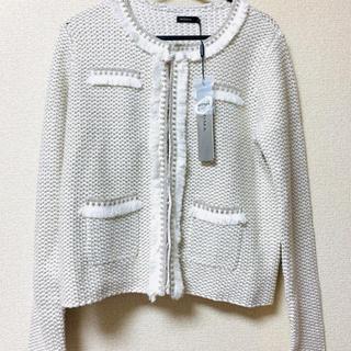 モマ(MOMA)の新品 シルバー ジャケット フォーマル  イネド  エフデ  アンタイトル  (ノーカラージャケット)