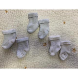 プチバトー(PETIT BATEAU)のプチバトー 新生児用ソックス(靴下/タイツ)