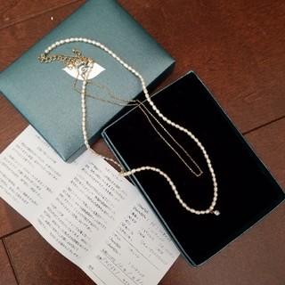 淡水パール2連ネックレス(ネックレス)