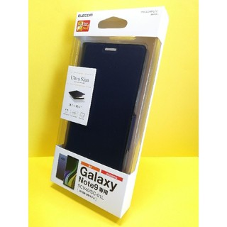 エレコム(ELECOM)のGalaxy Note9用ソフトレザーカバー/薄型/磁石付(Androidケース)