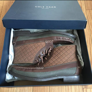 Cole Haan - Cole Haan スノーブーツ 茶色