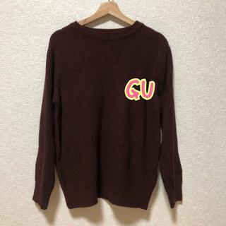 ジーユー(GU)のGU ニットトップス(ニット/セーター)