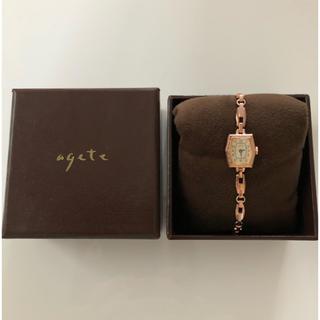 アガット(agete)のagete ブレスレットウォッチ(腕時計)