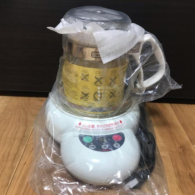 HARIO(ハリオ)のハリオ マイコン煎じ器3 HMJ3-1000W インテリア/住まい/日用品のキッチン/食器(調理道具/製菓道具)の商品写真