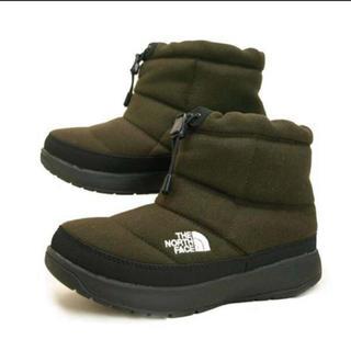 ザノースフェイス(THE NORTH FACE)の新品 ノースフェイス ヌプシ ブーツ ウール NFW 51979 24.0cm(ブーツ)