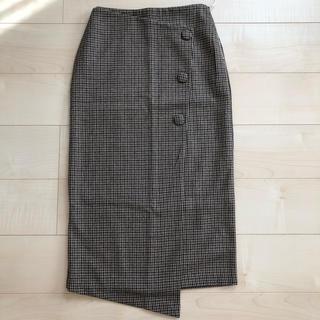シールームリン(SeaRoomlynn)のラップタイトスカート チェック(ひざ丈スカート)