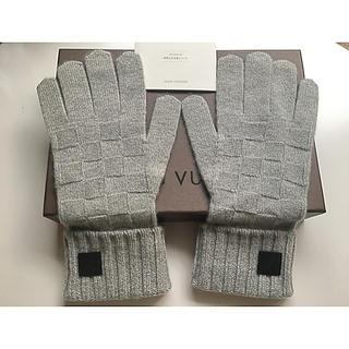 ルイヴィトン(LOUIS VUITTON)の☆試着のみ☆ ルイヴィトン  ゴンヘルシンキ カシミヤ100% 手袋 現行品(手袋)