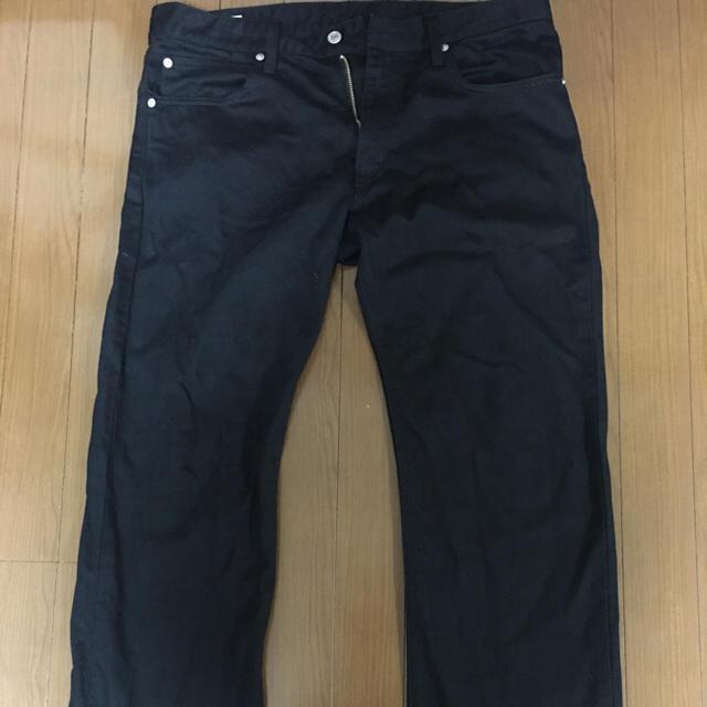EDWIN(エドウィン)のメンズ用ブラックデニム メンズのパンツ(デニム/ジーンズ)の商品写真