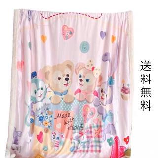 ダッフィー(ダッフィー)のディズニー☆ダッフィー&フレンズ☆毛布☆ブランケット☆もこもこ☆商品番号:9(毛布)