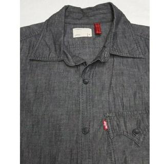 リーバイス(Levi's)のLevi's redloopシャンブレーブラックシャツ(シャツ)