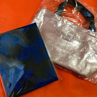 マルコ(MARUKO)のマルコ 折りたたみ ミラー ポードランジェ ピンク バッグ(ミラー)