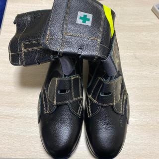 長靴 安全靴 編み上げ(レインブーツ/長靴)