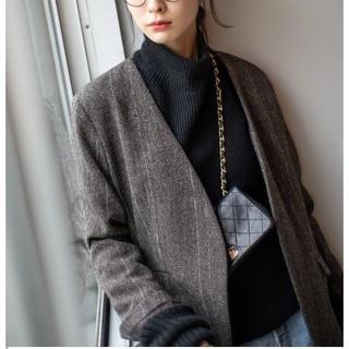 アパルトモンドゥーズィエムクラス(L'Appartement DEUXIEME CLASSE)の18AW JANE SMITH × Plage HERRIN ジャケット(ノーカラージャケット)
