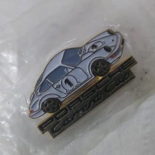 Porsche - ポルシェ カレラ カップ ピンバッジ 白 (赤もあります)