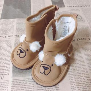 ベビーギャップ(babyGAP)のbaby GAP クマさんブーツ 6-12m(ブーツ)