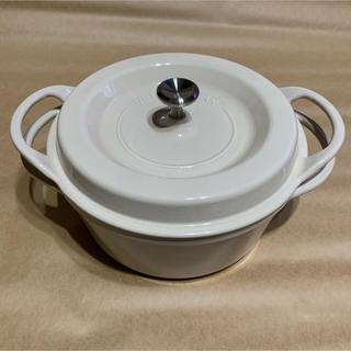 バーミキュラ(Vermicular)の新品 バーミキュラ  オーブンポットラウンド(鍋/フライパン)