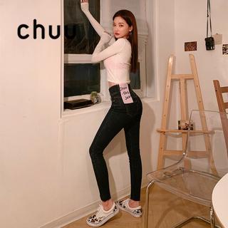 チュー(CHU XXX)のchuu-5KG JEANS vol.105裏起毛♡サイズ27(デニム/ジーンズ)