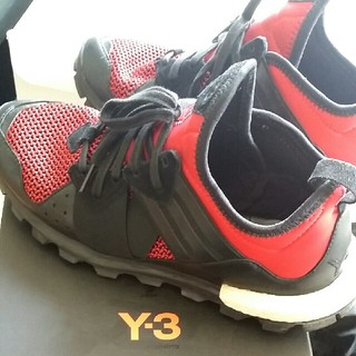 ワイスリー(Y-3)の即購入で→500OFF adidas Y-3 RESPONSE TR BOOST(スニーカー)