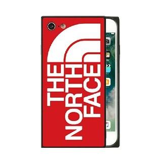 ザノースフェイス(THE NORTH FACE)のノースフェイス スクエア ガラスケース iPhoneケース rn3u(iPhoneケース)