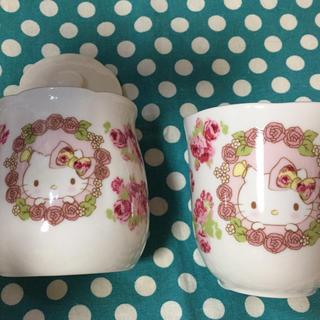 ローラアシュレイ(LAURA ASHLEY)のキティ ローラアシュレイ コラボ マグカップ シュガーポット(グラス/カップ)