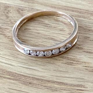 K18 ダイヤモンド 0.20ct リング (リング(指輪))