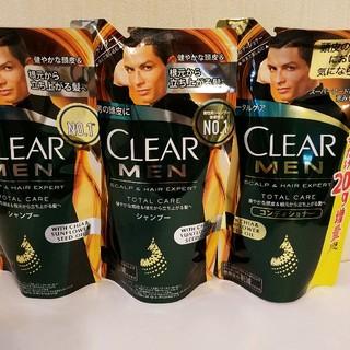 ユニリーバ(Unilever)のCLEAR MEN メンズ シャンプー&コンディショナー(シャンプー)