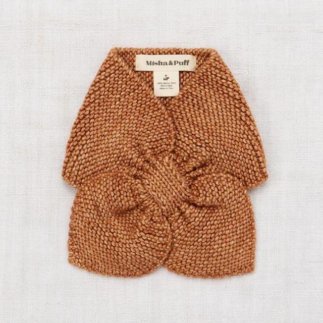 Caramel baby&child (キャラメルベビー&チャイルド)のmisha&puff  19aw スカーフ マフラー RoseGold キッズ/ベビー/マタニティのこども用ファッション小物(マフラー/ストール)の商品写真