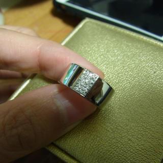 ヴァンドームアオヤマ(Vendome Aoyama)のヴァンドーム k18 ダイヤモンドリング(リング(指輪))