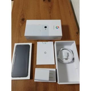 アンドロイド(ANDROID)のGoogle pixel 3a Clearly white☆新品未使用品(スマートフォン本体)