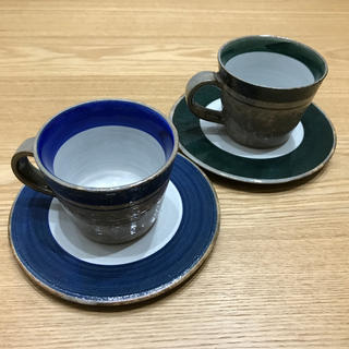 スタディオクリップ(STUDIO CLIP)のカップとソーサー(グラス/カップ)