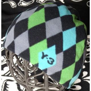 ワイスリー(Y-3)の新品 Y-3 フリースビーニー S アーガイルチェック (ニット帽/ビーニー)