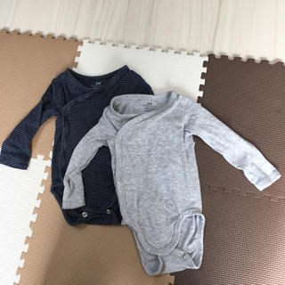 エイチアンドエム(H&M)のH&M オーガニックコットン 肌着 下着 ベビー服 出産準備 60 70 新生児(肌着/下着)