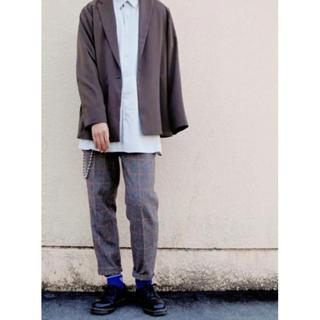 HARE - BIGモダールシャツ ライトグレー(HARE)ハレ 定価10450円