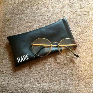 ハレ(HARE)のHARE伊達メガネ(サングラス/メガネ)