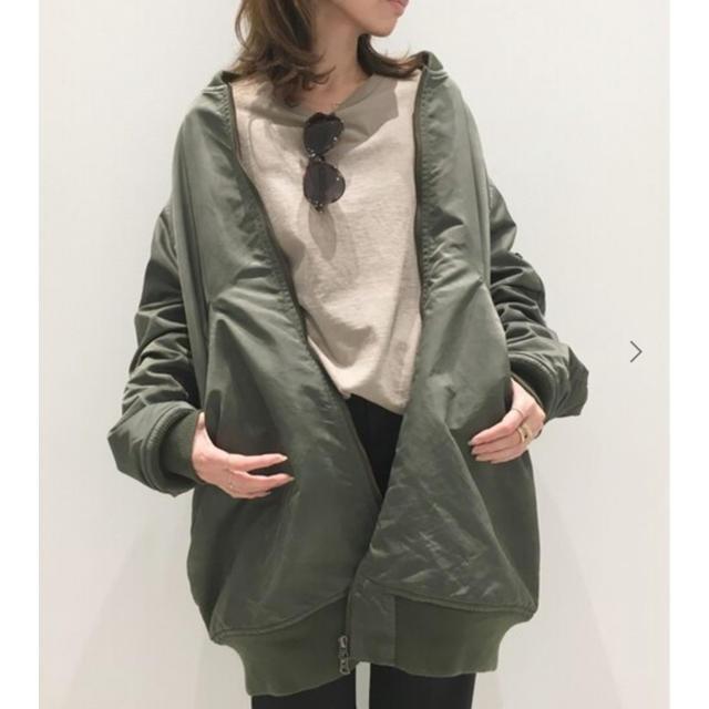 L'Appartement DEUXIEME CLASSE(アパルトモンドゥーズィエムクラス)の【未使用】STAMMBAUM L2-B Long ブルゾン レディースのジャケット/アウター(ブルゾン)の商品写真