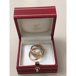 カルティエ(Cartier)のN163 カルティエ 3連リング 49# トリニティ スリーカラー 6.9g(リング(指輪))