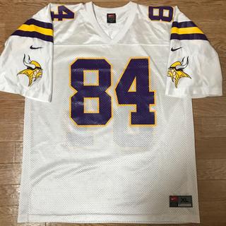 ナイキ(NIKE)のミネソタ・バイキングス(ランディ・モス) NFL ゲームジャージ(アメリカンフットボール)