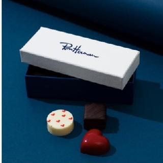 ロンハーマン(Ron Herman)のロンハーマン バレンタイン💝チョコレート  3粒  2個セット(菓子/デザート)