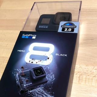 ゴープロ(GoPro)の2台セット GoPro HERO8 新品未使用 保証付き(コンパクトデジタルカメラ)