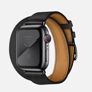 アップルウォッチ(Apple Watch)のアップルウォッチ series5 エルメス 40mm スペースブラック(腕時計(デジタル))