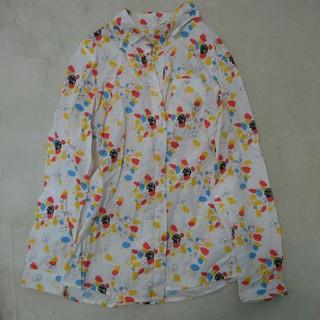 グラニフ(Design Tshirts Store graniph)のグラニフ しろねこくろねこ シャツ(シャツ/ブラウス(長袖/七分))