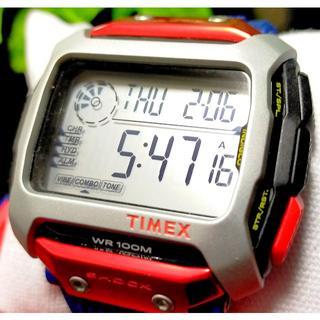 タイメックス(TIMEX)の定価2万円 TIMEX タイメックス コマンド RED BULL レッドブル(腕時計(デジタル))
