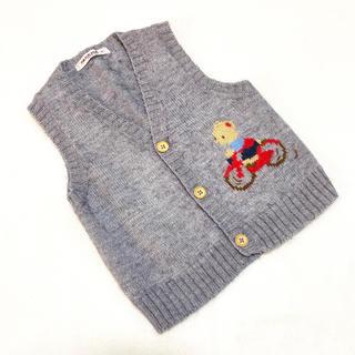 familiar - 【ファミリア】ニットベスト セーター フォーマル 90